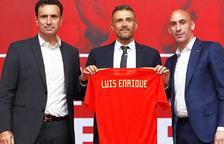 Luis Enrique, presentat com a nou seleccionador