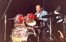 Actuació de l'artista i director d'orquestra Lionel Hampton a Escaldes