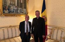 Montobbio s'acomiada del Copríncep episcopal