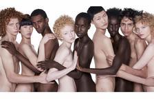 Benetton ha utilitzat models completament nus