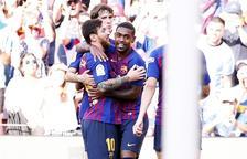 El Barça derrota el Boca Júniors al Joan Gamper