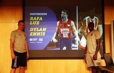 El MoraBanc Andorra presenta a Dylan Ennis i Rafa Luz