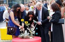 Barcelona homenatja les víctimes dels atemptats del 17-A