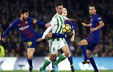 El duel entre Betis i Barça es podria jugar als Estats Units