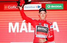 El resident Rohan Dennis, primer líder de la Vuelta