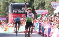 King s'endú la quarta etapa i Simon Yates colpeja primer