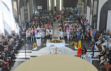 Celebració de la missa solemne al Santuari