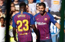 Un Barça sense brillantor pateix per guanyar a Anoeta