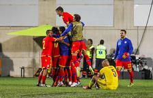 La selecció d'Andorra juga la Lliga de les Nacions