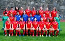 La selecció sub-17 femenina afronta amb il·lusió el Preeuropeu