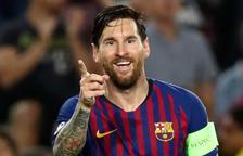 Messi signa un hat-trick per mostrar que vol la Champions