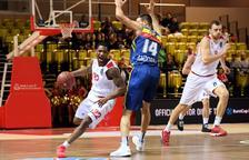 Derrota del MoraBanc davant l'AS Mònaco per 81 a 73