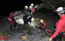 L'escaladora que va resultar ferida de gravetat al baix Pallars rebrà l'alta avui