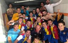 Dos gols de 'Kiki' arrodoneixen la setmana màgica de l'FC Andorra