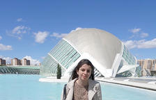 L'estudiant de Dret i Global Management, Lara Da Sousa