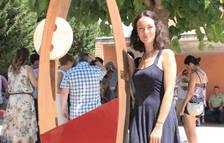 L'artista Emma Regada
