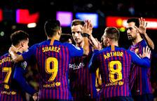 Suárez i Messi donen la victòria al Barça