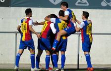 Forgas signa el primer triomf de l'Andorra