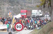 Transportistes i busos van a Catalunya tot i la vaga