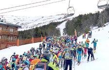 La participació de mil corredors consolida la Skimo