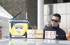 Un 17,8% més de tabac comissat a la duana francoandorrana