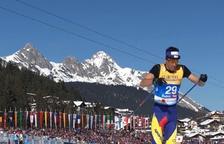 Irineu Esteve acaba 22è als 15 quilòmetres clàssics del Mundial absolut