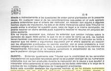 Espanya tomba les querelles de Rebés contra Barrigón