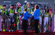 Suïssa es proclama campiona de l'Alpine Team Event i Andorra cau contra Canadà