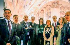 L'Espai Columba acull els frescos i difondrà el romànic nacional
