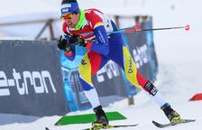 Irineu Esteve, 43è a l'última  prova de la Copa del Món