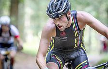 El triatleta Xavier Jové