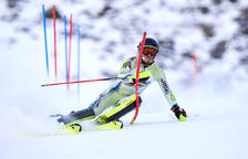 Esteve i Mijares, campions d'Andorra en gegant i eslàlom