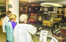 Prop d'una cinquantena de cotxes clàssics s'han exposat des de l'inici del museu