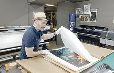 Carlos Puerta ret al saló del còmic la visita ajornada la passada edició