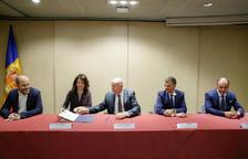Se signa un conveni per a la col·laboració transfronterera en matèria de fauna salvatge