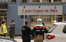 El Lycée torna a la normalitat després d'una falsa fuita de gas