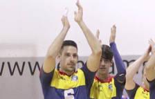 El jugador del Club Voleibol Encamp, Ivan Lanza