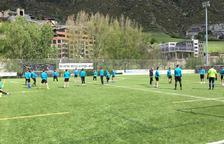 L'FC Andorra afronta la primera oportunitat d'ascens