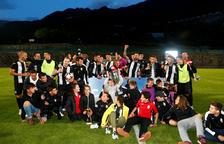 L'UEEngordany guanya la Copa Constitució i jugarà la prèvia d'Europa League (2-0)