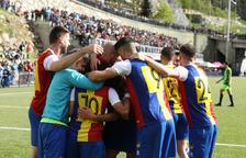 L'FC Andorra no s'ha plantejat la compra d'una plaça a 2a divisió B