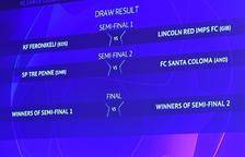 El Vall Banc s'enfrontarà al Tre Penne de San Marino a la preliminar de la Lliga de Campions