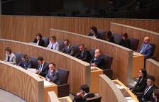 Primera sessió de control al Govern de la legislatura