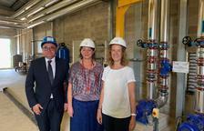 Calvó i Moles visiten la nova xarxa de calor a Perpinyà