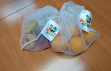 Bosses reciclables per a la verdura i la fruita