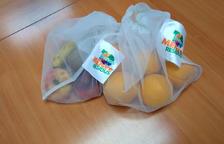 Campanya per a l'ús de bosses reutilitzables a la secció de fruita