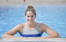 La nedadora andorrana, Nàdia Tudó.