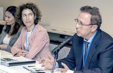 Ubach encapçala un acte sobre canvi climàtic a les Nacions Unides