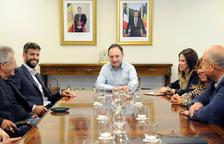 Piqué presenta el projecte a Espot, Marsol i Torres
