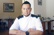 El xef del restaurant Cal Bonavida, Luis Fernando.