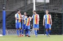 L'FC Andorra segueix amb pas ferm